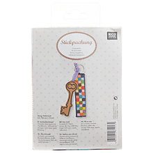 Buy Rico Squares Key Chain Embroidery Kit Online at johnlewis.com