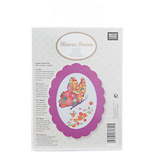 Buy Rico Butterfly Embroidery Kit Online at johnlewis.com