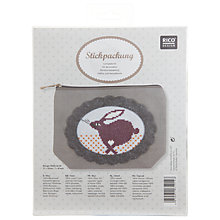 Buy Rico Rabbit Embroidery Kit Case Online at johnlewis.com