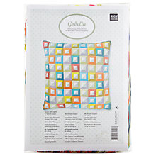 Buy Rico Design Square Pattern Cushion Embroidery Kit Online at johnlewis.com