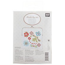 Buy Rico Floral Coin Purse Kit, White/Multi Online at johnlewis.com