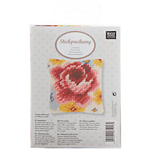 Buy Rico Rose Pin Cushion Embroidery Kit Online at johnlewis.com