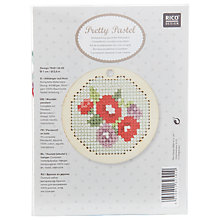 Buy Rico Flower Wooden Hanger Embroidery Kit Online at johnlewis.com