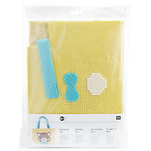 Buy Rico Bear Felt Bag Embroidery Kit Online at johnlewis.com