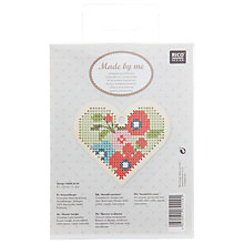 Buy Rico Wooden Heart Pendant Kit, Multi Online at johnlewis.com