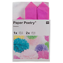 Buy Rico Tissue Paper Pompons Online at johnlewis.com