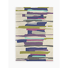 Buy Harlequin Zeal Rug, Purple/Aqua Online at johnlewis.com