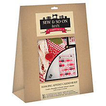 Buy Docrafts Advent Calender Kit Online at johnlewis.com