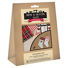 Buy Docrafts Stocking Kit Online at johnlewis.com