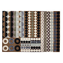Buy Margo Selby for John Lewis Mosaic Neutral Rug, Blue/Brown Online at johnlewis.com