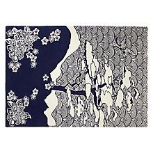 Buy Wendy Morrison for John Lewis Indigo Mountain Rug, 240 x 170cm Online at johnlewis.com