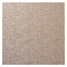 Buy Scion Enola Semi Plain Fabric, Cinnamon, Price Band F Online at johnlewis.com