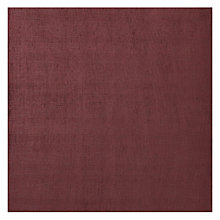 Buy John Lewis Arden Semi Plain Fabric, Burgundy, Price Band D Online at johnlewis.com