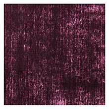 Buy Sanderson Icaria Cut Pile Velvet Fabric, Blackcurrant, Price Band G Online at johnlewis.com
