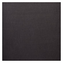 Buy John Lewis Linamore Semi Plain Fabric, Charcoal, Price Band E Online at johnlewis.com