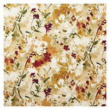 Buy Sanderson Simi Woven Print Fabric, Copper, Price Band F Online at johnlewis.com
