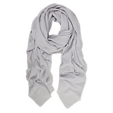 Buy Mint Velvet Stud Scarf, Grey Online at johnlewis.com