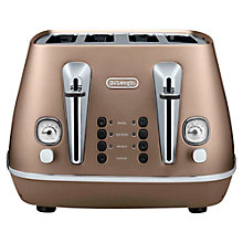 Buy De'Longhi Distinta 4-Slice Toaster Online at johnlewis.com
