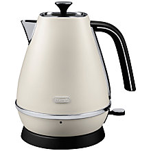 Buy De'Longhi Distinta Jug Kettle and 4-Slice Toaster, White Online at johnlewis.com