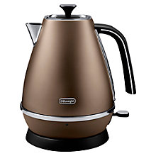 Buy De'Longhi Distinta Jug Kettle and 4-Slice Toaster, Bronze Online at johnlewis.com