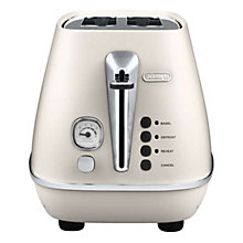 Buy De'Longhi Distinta 2-Slice Toaster Online at johnlewis.com