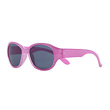 Buy John Lewis Girl Oval Glitter Sunglasses, Pink Online at johnlewis.com