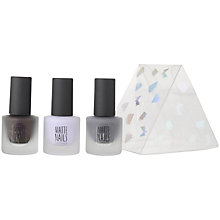 Buy TOPSHOP Mini Matte Nail Trio Gift Set Online at johnlewis.com