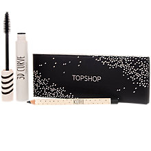 Buy TOPSHOP Kohl And Mascara Kit, Black Online at johnlewis.com