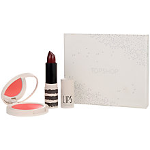Buy TOPSHOP Lip and Cream Blush Gift Set Online at johnlewis.com