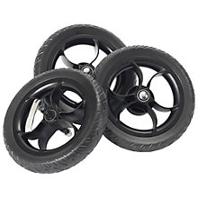 "Buy Out 'N' About Nipper EVA 10"" Wheels, Black Online at johnlewis.com"