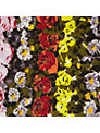 Floral Border Fabric
