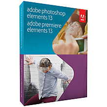 Buy Adobe Photoshop and Premiere Elements 13, Photo and Video Editing Software Online at johnlewis.com
