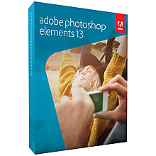 Buy Adobe Photoshop Elements 13, Photo Editing Software Online at johnlewis.com