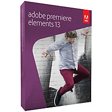 Buy Adobe Premiere Elements 13, Video Editing Software Online at johnlewis.com