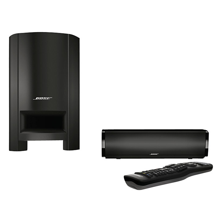 Buy Bose® CineMate 15 TV Sound Bar with Subwoofer, Black Online at johnlewis.com