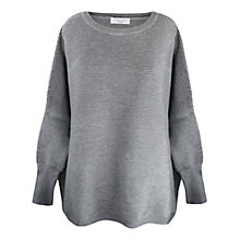 Buy Paisie Ripped Jumper, Grey Online at johnlewis.com