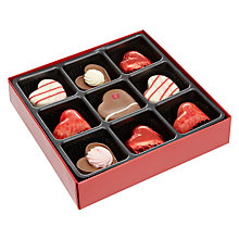 Buy Natalie Chocolates Red Hearts and Flowers Chocolate Selection, 110g Online at johnlewis.com
