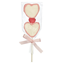 Buy Heart Marshmallow Lolly, 35g Online at johnlewis.com