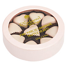 Buy Charbonnel et Walker Pink Marc de Champagne Truffle Hearts, 125g Online at johnlewis.com