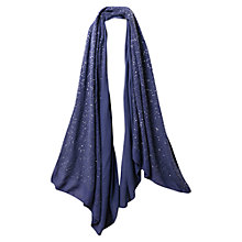 Buy East Tiny Sequin Scarf, Iris Online at johnlewis.com