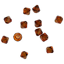 Buy Rico Glass Diamond Beads, 6mm Online at johnlewis.com