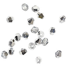 Buy Rico Diamond Glass Beads, 4mm Online at johnlewis.com