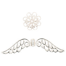 Buy Rico Wings And Bead Cap, 50mm Online at johnlewis.com