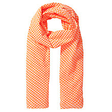 Buy Becksondergaard Emilie Scarf, Orange Online at johnlewis.com