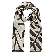 Buy Becksondergaard Cotton Love Birds Scarf And Bag, Black Online at johnlewis.com