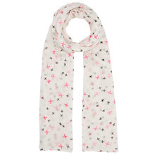 Buy Becksondergaard Evelyn Bird Print Scarf, Multi Online at johnlewis.com