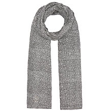 Buy Becksondergaard Mignon Scarf, Black/White Online at johnlewis.com