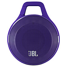 Buy JBL Clip Portable Bluetooth Speaker Online at johnlewis.com