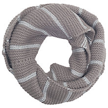 Buy French Connection Gabby Metallic Scarf, Grey/Silver Online at johnlewis.com