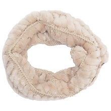 Buy French Connection Holly Snood, Cream Online at johnlewis.com